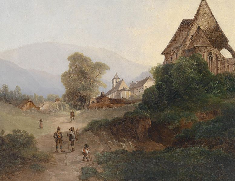 Painting by Josef Theurich
