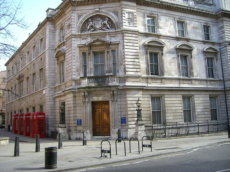 Bow Street Magistrates' Court, located in Central London.