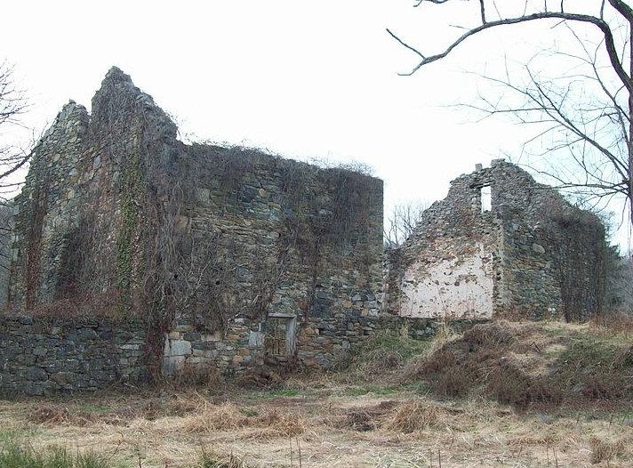 Ruins of a village