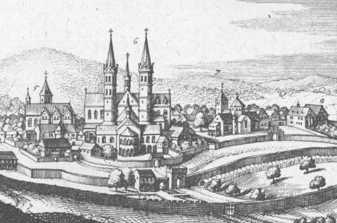 Fulda by Matthäus Merian der Ältere de Oude