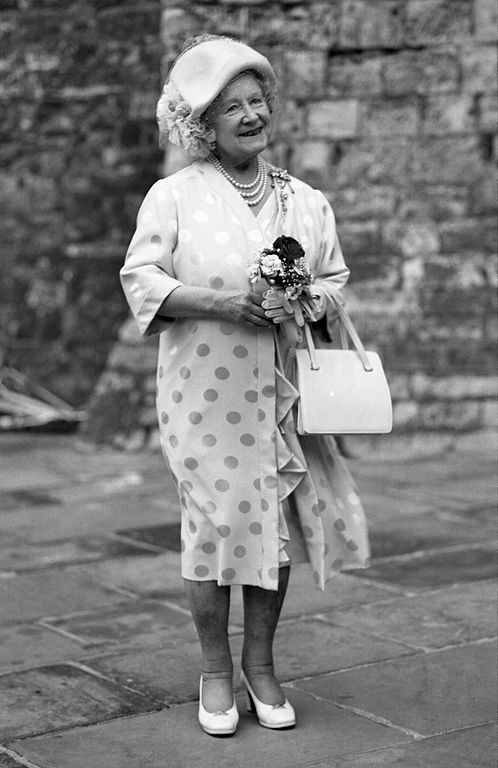 The Queen Mother. Photo by Allan Warren