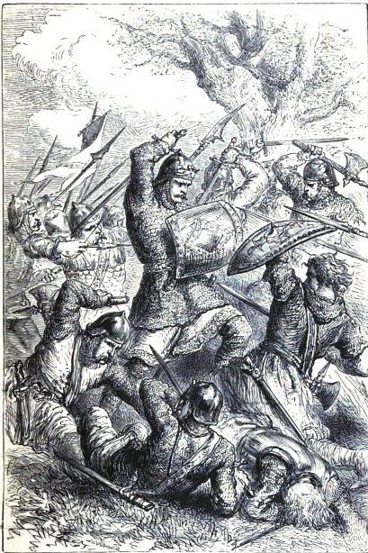 King Alfred at the Battle of Ashdown