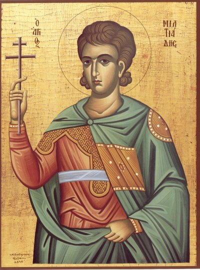 Icon of Pope St. Miltiades