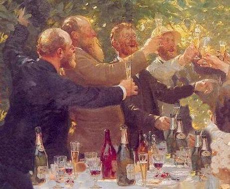 Painted by   Peder Severin Krøyer