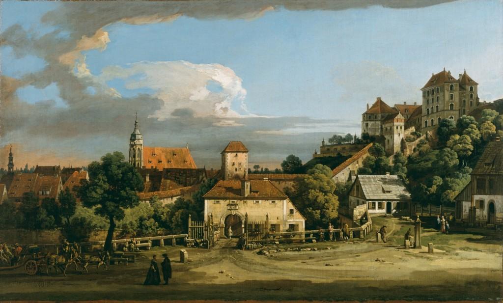 Painting by Bernardo Bellotto