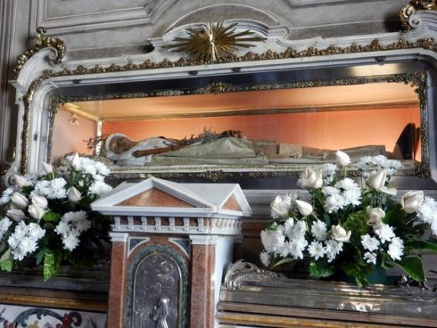 "Her incorrupt body remained intact for centuries and in 1930 a chemical treatment was added to preserve the relic. On her deathbed she said, "" Whatever you would wish at your dying hour to have done in health, that do now while you may."" Photo by Geobia"