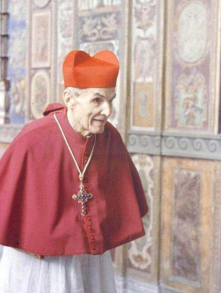"Cardinal Elia Dalla Costa, known as ""the Cardinal of Charity"" for helping save thousands of Italians from execution under the Fascist regime during World War II."