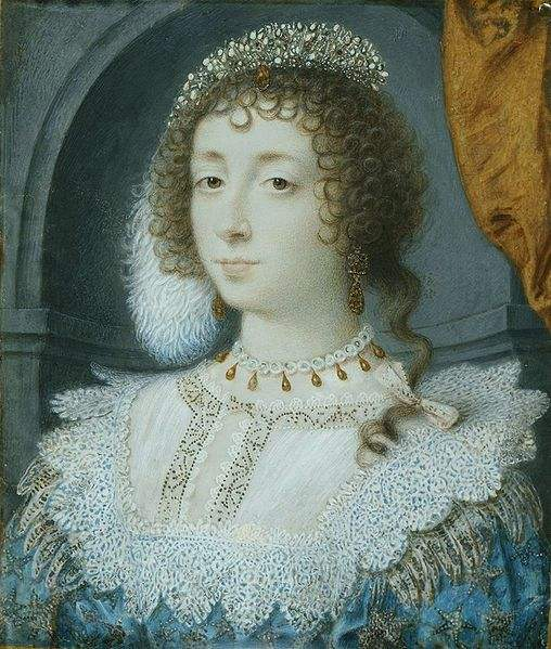 Queen Consort Henrietta Maria of France
