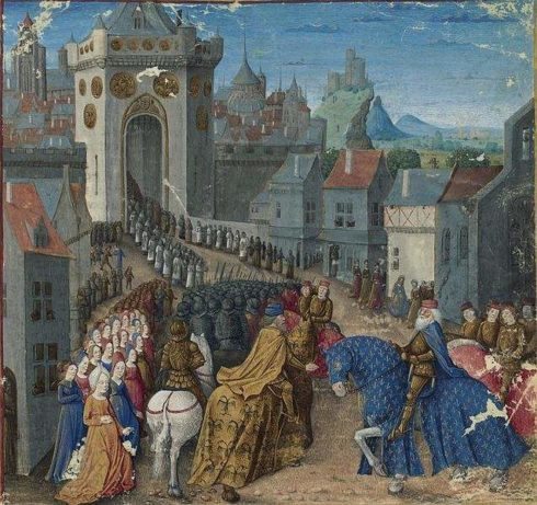 Charlemagne at Constantinople
