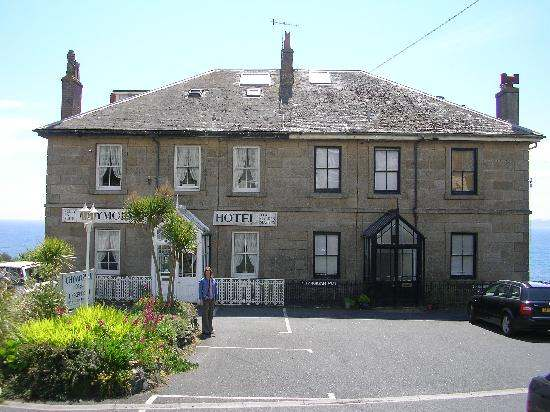 Chymorvah Hotel, a Bed & Breakfast in Cornwall, owned by Peter and Hazelmary Bull. The owners, long-standing policy of banning all unmarried couples from sharing a room, lost a case banning two homosexuals from booking a room.