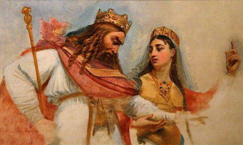 Clovis and St. Clotilda, painting by Antoine-Jean Gros.