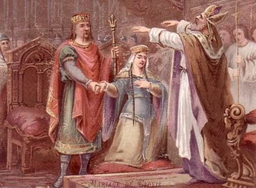 The Marriage of Clovis and St. Clotilde.