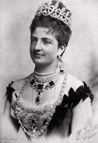 Margherita of Savoy-Genoa, queen of Italy