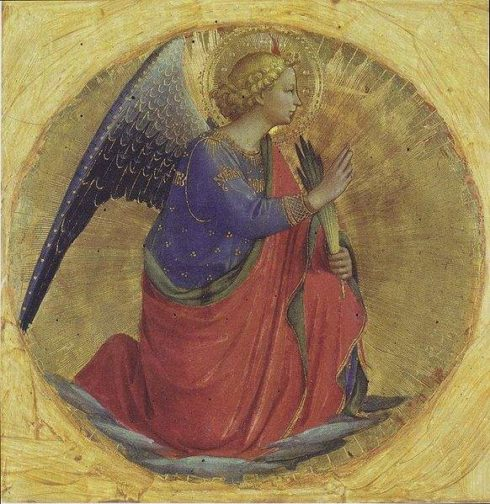 Angel of the Annunciation, by Bl. Fra Angelico