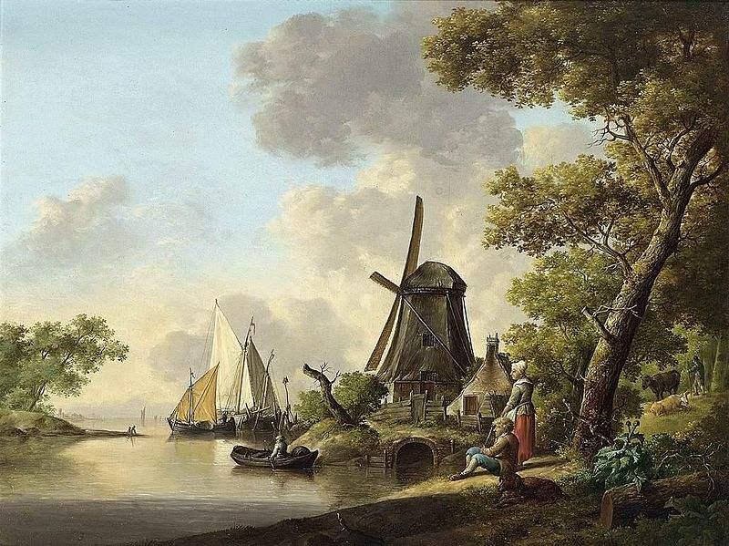 Summer Landscape, painted by Jan van Os.