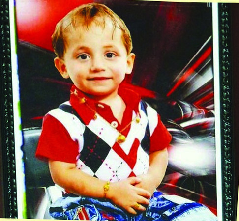"On October 2010 Muslim terrorists murdered 58 Iraqi Catholics while they were attending evening Mass at the Cathedral of Our Lady of Perpetual Help in Baghdad. ""Enough! Enough!"" shouted this three-year old toddler as he chased one of the Islamic terrorists gunning down the faithful and in response, the Mujahidin turned his gun on the valiant boy and riddled him with bullets."