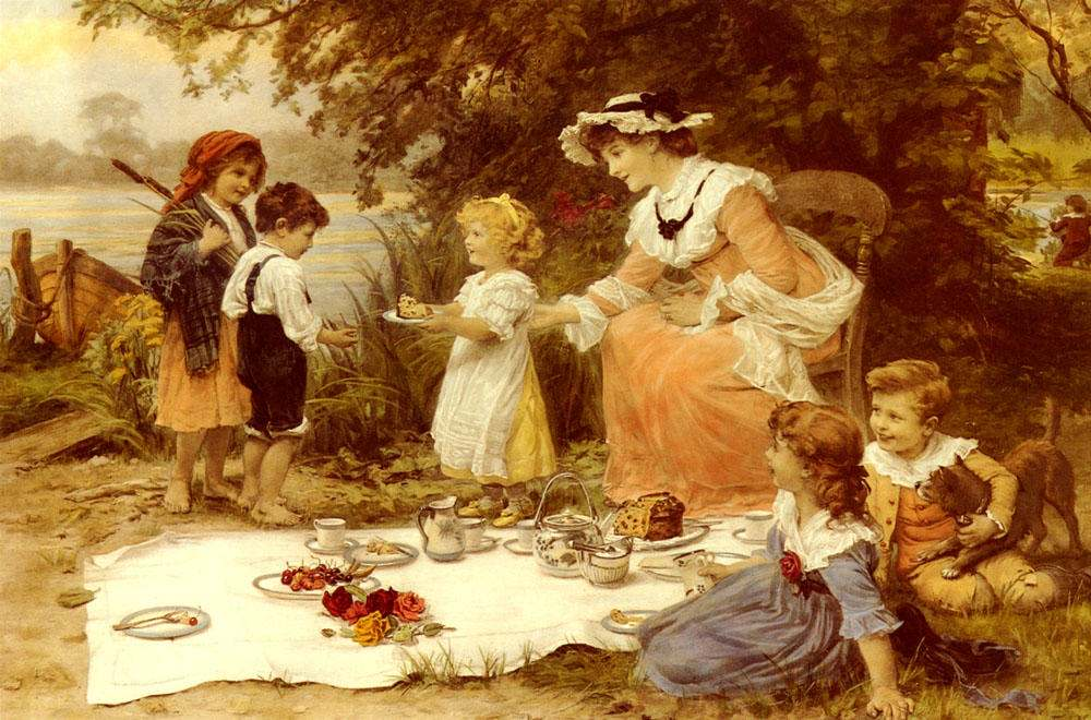 Charity by Frederick Morgan