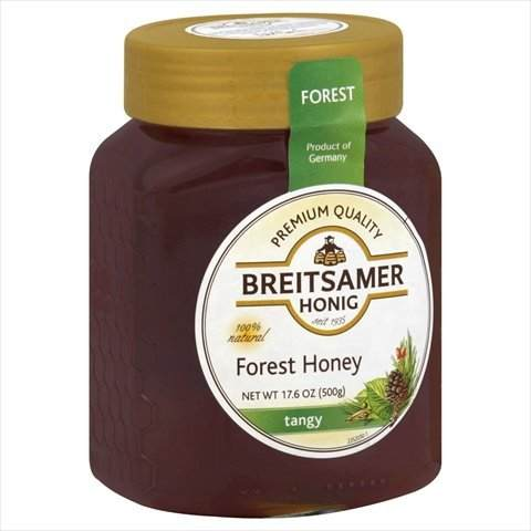 Breitsamer German Forest Honey, made of the wildflowers in the mountains.