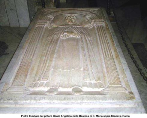 The tomb of Bl. Fra Angelico