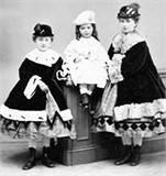Three sisters: St. Katharine, Louise and Elizabeth Drexel.