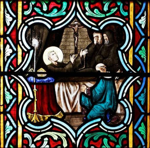 Death of St. Anselm, photo by Thesupermat.