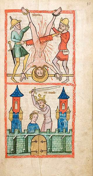 Martyrdom of the Prophet Isaiah.