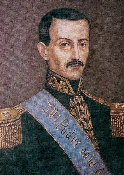 José María Urbina Viteri, President of Ecuador.