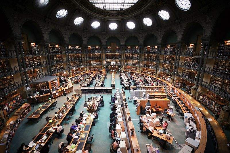 Bibliothèque Nationale of France. Photo by Vincent Desjardins.