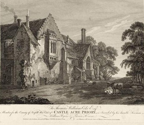 Castle_acre_priory_by_W._Byrne_&_S._Middiman_-_GMII