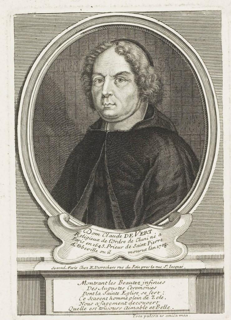 Dom Claude de Vert, Prior of Saint-Pierre