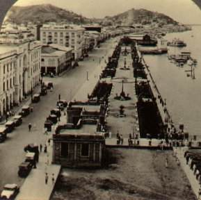 Guyaquil Waterfront, c. 1920.