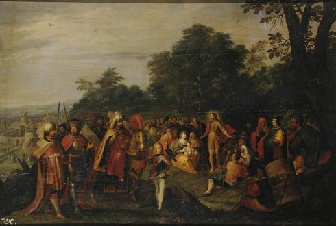 Sermon of St John the Baptist by Frans II Francken.