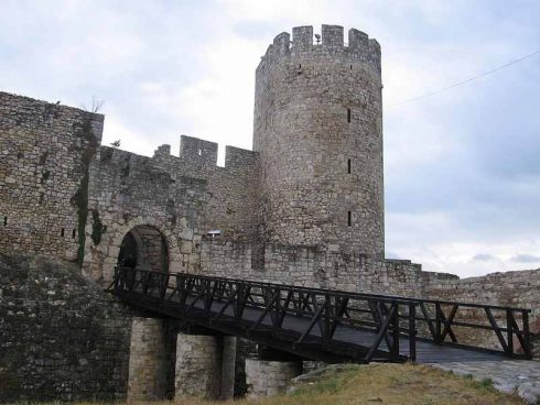 Part of Belgrade Fortress from the 17th century.