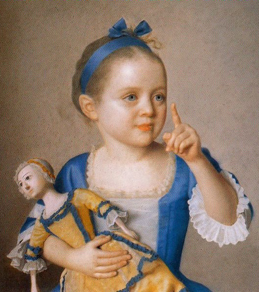 Painting by Jean-Étienne Liotard