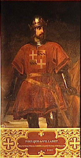 Foulques de Villaret, 25th Grand Master of the Knights Hospitaller.