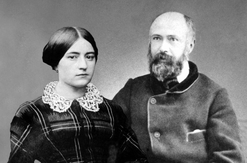 Zelie and Louis Martin, parents of St. Therese.