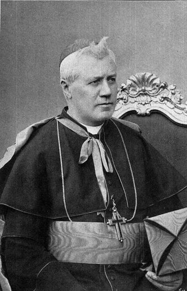 Photo of Cardinal Giuseppe Sarto, the future Pope St. Pius X.
