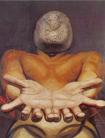 """""""Nuestra Imagen Actual"""" Painted by David Alfaro Siqueiros."""