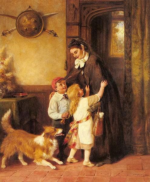 A Joyful Welcome by George Bernard O'Neill