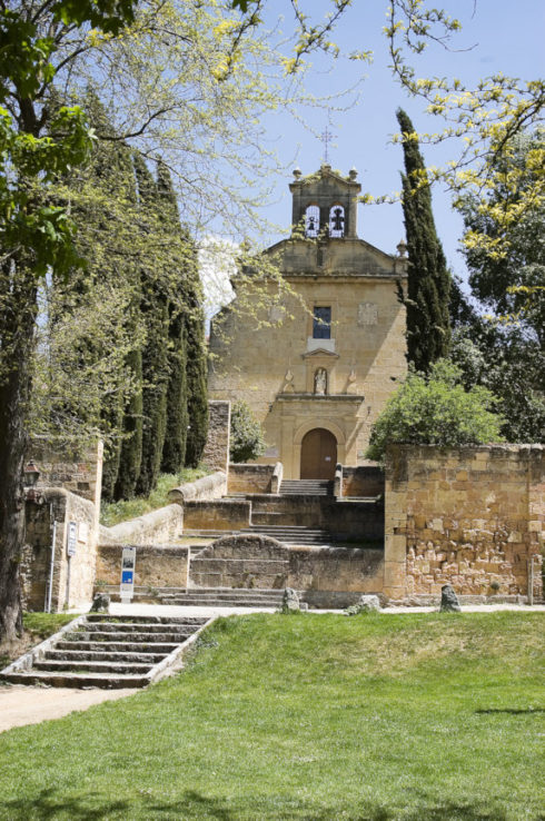 The Convent of Carmelite Friars, Segovia, Spain, where St. John of the Cross is buried.