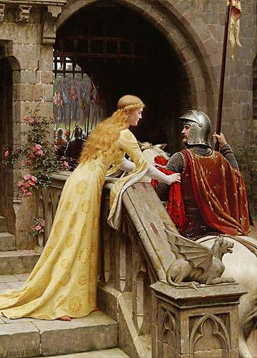 God Speed by Edmund Blair Leighton.