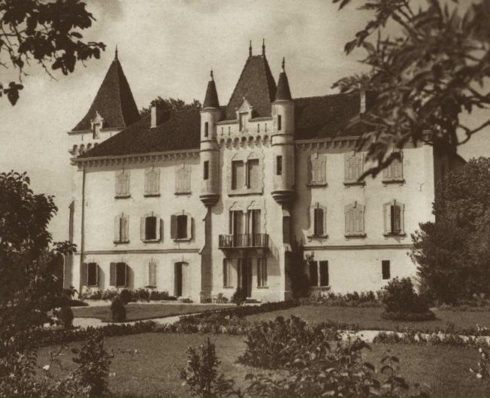 "The family chateau in La Cour. ""I live in a château too, and it's even the most beautiful in the country,"" Anne once said."