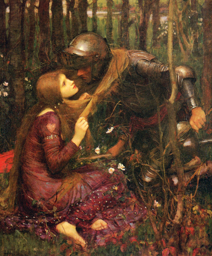 La Belle Dame sans Merci, painted by John William Waterhouse.