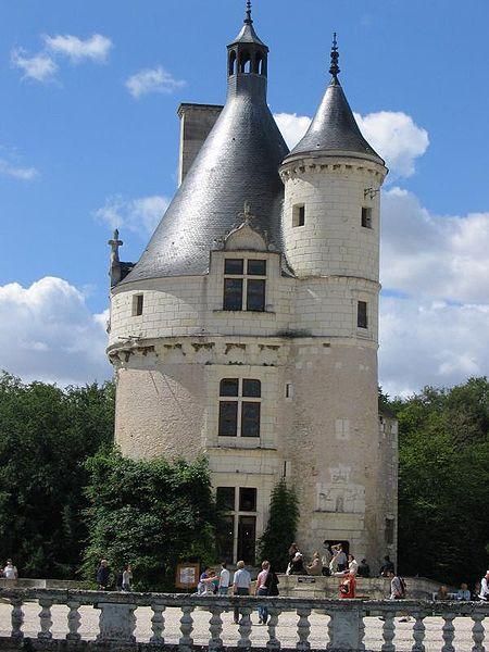Chateau de Chenonceau, Tour des Marques.