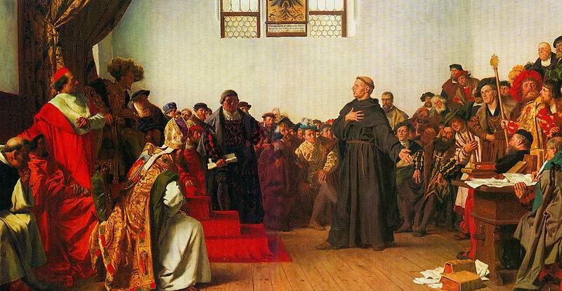 Luther at the Diet of Worms, by Anton von Werner.