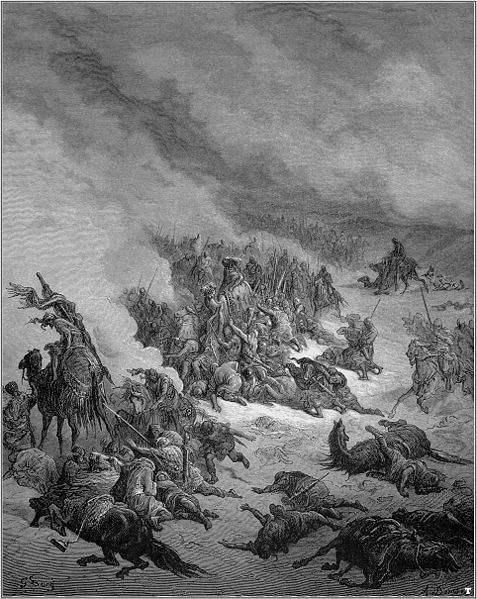 Gustave Doré, Crusaders crusade against the Moors of Granada