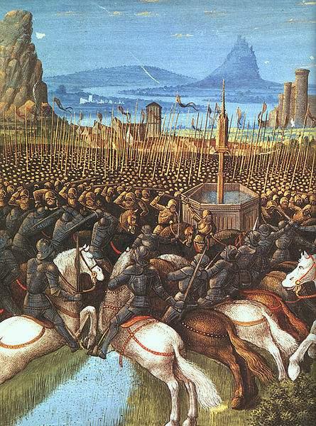 Battle of the Horns of Hattin, 1187.
