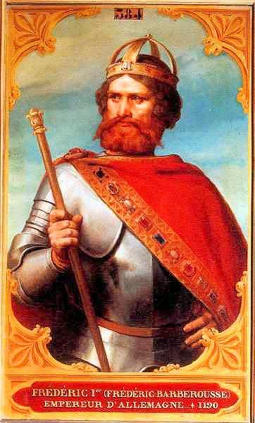 Frederick Barbarossa, Frederick I, Holy Roman Emperor