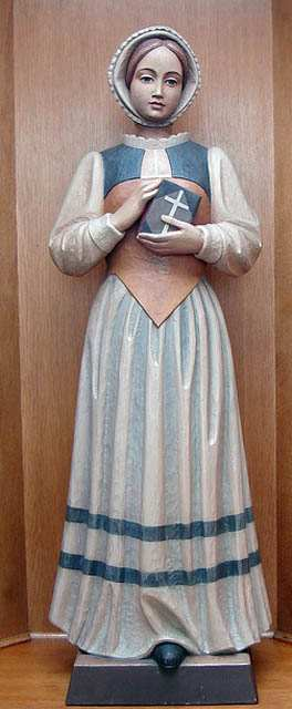 Statue of St. Margaret Clitherow