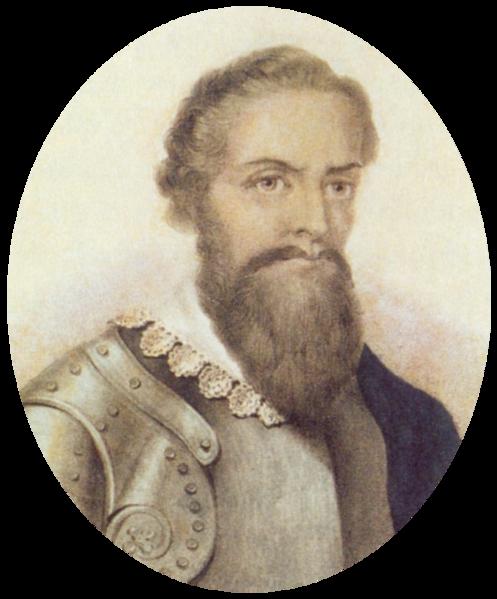 Lithograph of Pedro Álvares Cabral